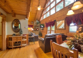 2 Bedrooms, Cabin, Vacation Rental, Gnatty Trail, 2 Bathrooms, Listing ID undefined, Sevierville, Sevier, Tennessee, United States,